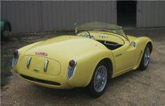 1955 Moretti America Spyder 750cc DOHC by Michelotti