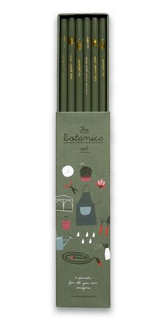 Botanics Pencils Set | Sets | Pleased to meet
