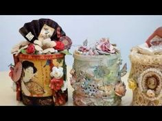ALTERED PRINGLE CANS - YouTube