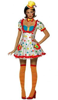 Deguisement de Clown Star Sexy