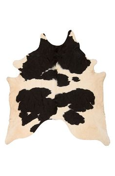 Mina Victory Mina Victory Genuine Cowhide Rug available at Southwestern Wedding Decor, White Cowhide Rug, Cow Skin Rug, Free Shapes, Cow Hide Rug, Contemporary Area Rugs, White Area Rug, Animal Print Rug, Black And White