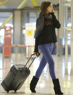 Airport Look: Irina Shayk