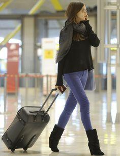 Airport Look: Irina Shayk