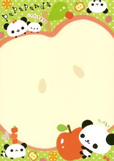 panda memo pad Kawaii Stationery, Stationery Paper, Panda Art, Panda Panda, Panda Painting, Stationary Printable, Panda Wallpapers, Panda Gifts, Cute Letters