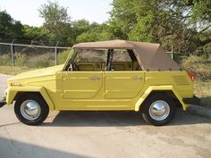 I've always loved a VW Thing