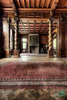 This is still so beautiful. One can imagine a lively fire in the fireplace, enjoying tea or wine, while finishing a favorite novel!