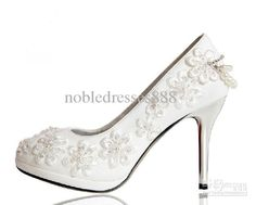 Wholesale Wedding Shoes - Buy 2013 The New Bride Wedding Shoes Manual Order Bead Wedding Shoes White Wedding The Bride Shoes, $48.0 | DHgate