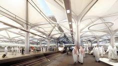 Al Haramain High Speed ​​Rail | Proyectos | Foster + Partners