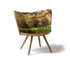 Embroidery Chair Atumn by Cappellini | Chairs