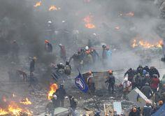 Ukraine : les ministres européens annulent leur rencontre avec le président Ianoukovitch pour raisons de sécurité - http://www.francetvinfo.fr/monde/europe/manifestations-en-ukraine/direct-ukraine-les-etats-unis-interdisent-20-responsables-de-visas-l-union-europeenne-se-reunit-a-bruxelles_534461.html