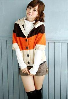 Autumn Fashion Hooded Cardigan