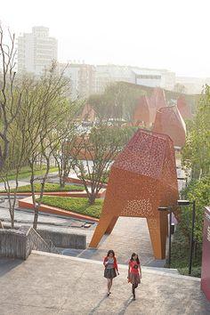 Fengming_Mountain_Park-Marta_Schwartz_Landscape_Architecture-23 « Landscape Architecture Works | Landezine Landscape Architecture Works | La...