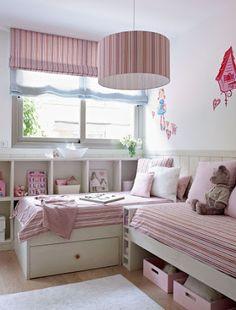 Decoracion Hogar - Comunidad - Google+ Small Room Bedroom, Bedroom Wall, Girls Bedroom, Diy Room Decor For Teens, Teen Room Decor, Boho Bedroom Decor, Farmhouse Bedroom Decor, Diy Zimmer, Big Girl Rooms