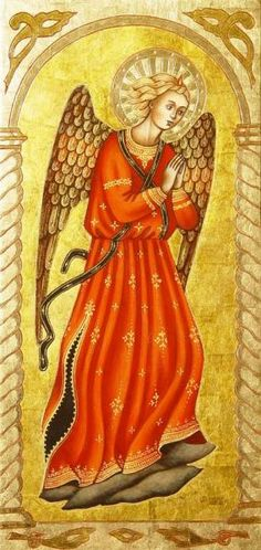 """fragmentu dzieła Fra Angelico """"Tabernakulum Linaiuoli"""""""