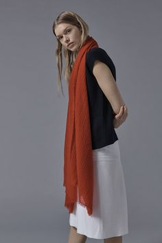 Esra Cashmere Shawl in Red Cashmere Throw, Cashmere Shawl, Red Shawl, Accessories Shop, Luxury Lifestyle, Dressing, Gowns, Silk, Sweaters