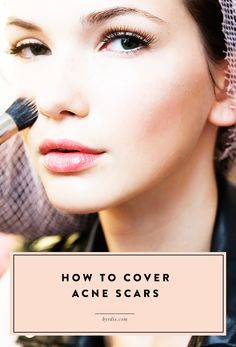 Celebrity makeup artist Wendy Rowe shares the secret to covering acne scars