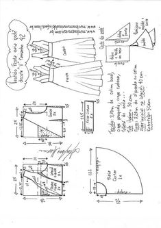 Sewing Blusas Blusa ombro a ombro ciganinha - DIY- marlene mukai - molde infantil Baby Dress Patterns, Kids Patterns, Coat Patterns, Clothing Patterns, Kimono Diy, Sewing Clothes Women, Sewing Blouses, Pattern Drafting, Pattern Sewing