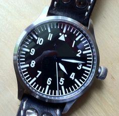 Steinhart Nav B Uhr 44mm Steinhart, Watches, Accessories, Watch, Clock, Stones, Wristwatches, Clocks, Jewelry Accessories