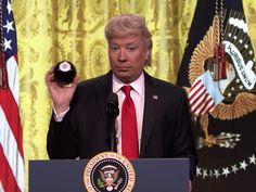 Jimmy Fallon brings back his Trump impression for that wild press conference