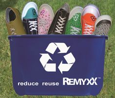 100% recyclable shoes.