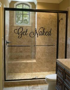 love to do this to ensuite shower doors