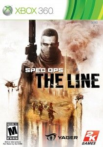 Spec Ops: The Line Xbox 360 box