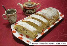 Túrós kalács Katharosztól Food And Drink, Bread, Brot, Baking, Breads, Buns
