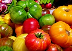 heirloom tomatoes | Food Trend: Heirloom Tomatoes