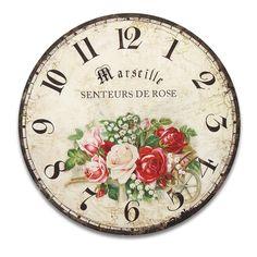 Clock Craft, Diy Clock, Clock Ideas, Vintage Images, Vintage Art, Vintage World Maps, Decoupage Art, Decoupage Vintage, Clocks Inspiration