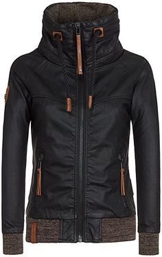 Naketano Female Jacket Hilde Gorgonzola Black, S: Amazon.de: Bekleidung