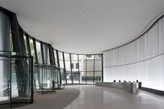 The Walbrook, London.  Architect: Foster + Partners.  Sto #acoustic #ceiling