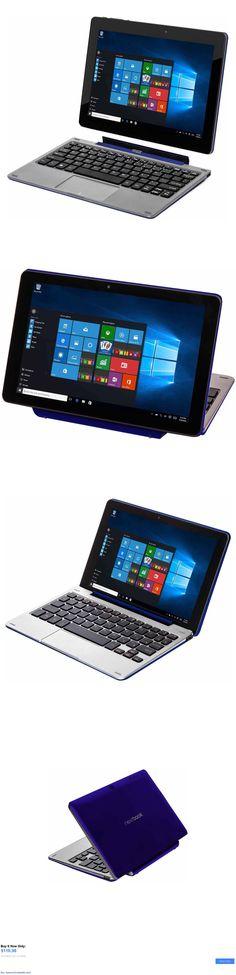 computers: Pc Laptop Tablet Flexx 8.9 2-In-1 32Gb Intel Quad Core Windows 10 Webcam Blue BUY IT NOW ONLY: $118.98 #priceabatecomputers OR #priceabate