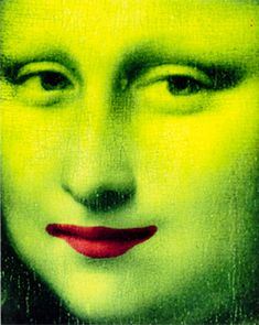 Portrait Mona Lisa (I have this printed in multiples on a plastic shopping bag from Louvre museum store)
