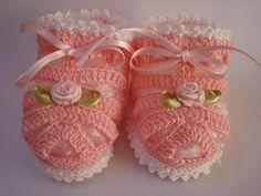 Sapatinhos Para Bebê - Life Baby: Passo a Passo Sandália em Crochê