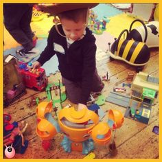 Our little Sensory Seeker went to London to test out Tescos Toys