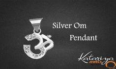 925 Sterling Silver Om Pendant  Buy Now :http://buff.ly/1Jnx0qs