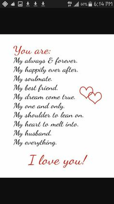 Love quotes for husband new i love my husband quotes and sayings with annportal of love Hubby Quotes, Love My Husband Quotes, Wishes For Husband, Soulmate Love Quotes, Life Quotes Love, Boyfriend Quotes, Love Quotes For Him, Me Quotes, Love For Husband
