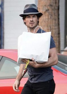 Ian Somerhalder out and about in LA