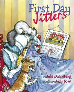 First Day Jitters (Mrs. Hartwell's Class Adventures) by Julie Danneberg http://www.amazon.com/dp/158089061X/ref=cm_sw_r_pi_dp_Luv4tb1ZDQWS7