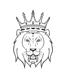 40 Best Lion Crown Tattoo Designs Images In 2017 Crown Tattoo