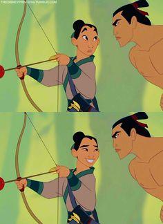 {Disney} Mulan and Shang :)