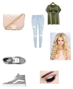 """""""Untitled #11"""" by danielafigueroa012 on Polyvore featuring River Island, Vans and Forever 21"""