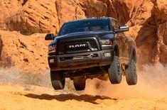 2017 ram power wagon sand dunes jump