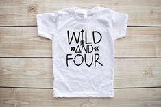 vierten Geburtstag Shirt vierten Geburtstag-Outfit 4. von Our5loves