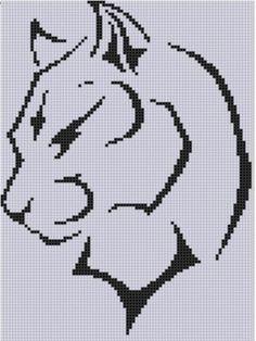 Cougar Cross Stitch Pattern