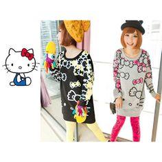 Hello Kitty sweater, get it at Rakuten Global Market