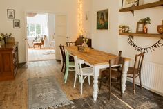Dining Room And Nook Make Over - Image By Richmond Pictures. See more of this beautiful home over on  http://rockmystyle.co.uk/hannahs-renovation/