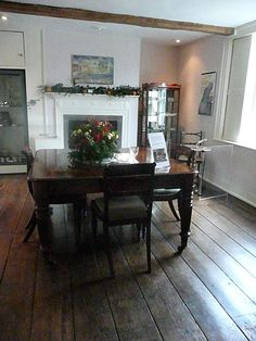The Dining Room, where Jane Austen wrote