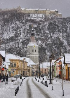 'Rasnov' by comsabogdan Romania, Snow, Outdoor, Outdoors, Outdoor Games, The Great Outdoors, Eyes, Let It Snow