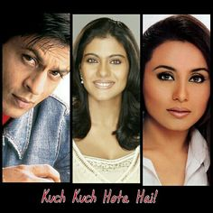 1000+ images about SRK WITH CO-STARS (Collage of PhotoGrid ... Kajol Mukherjee Kuch Kuch Hota Hai